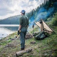 Helikon Poncho - US Woodland